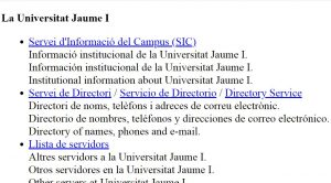 web más antigua de España